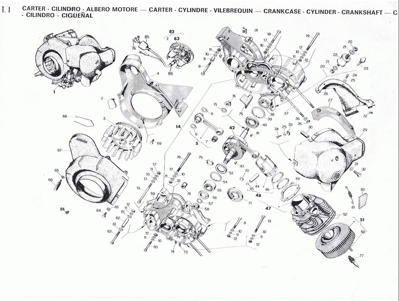 piaggio parts diagrams